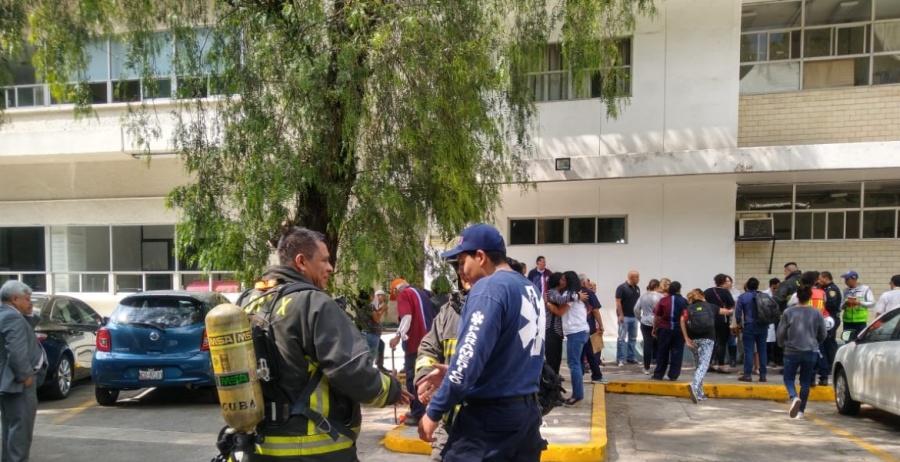 Se registra derrame químico en Escuela Superior de Medicina del IPN
