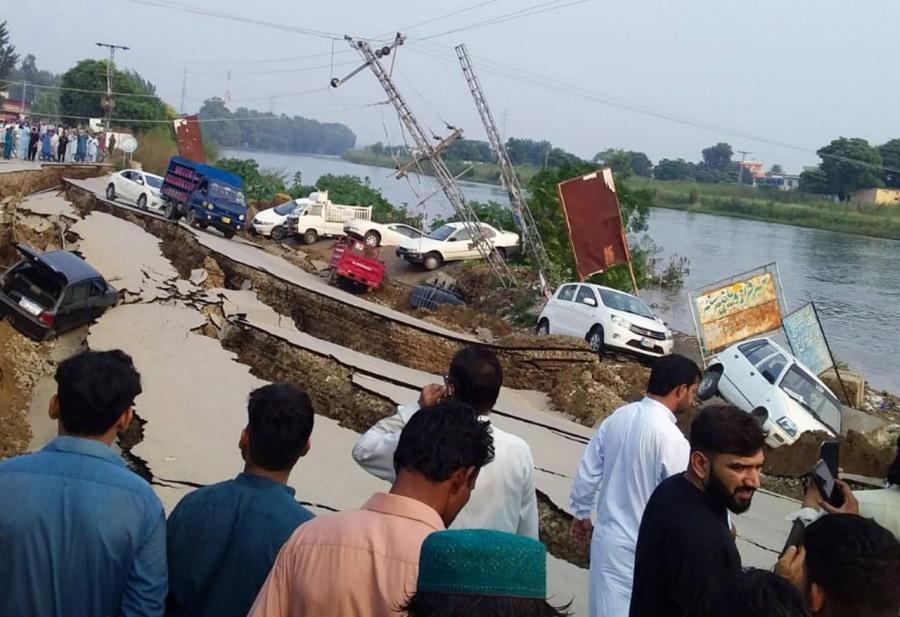 Sismo de 5.8 grados sacude Pakistán; hay al menos cuatro muertos