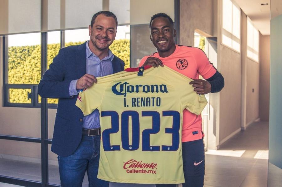 Renato Ibarra renueva con el América hasta 2023