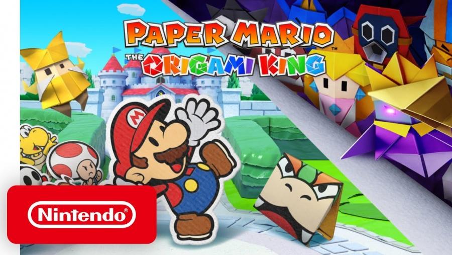 Anuncian el lanzamiento de Paper Mario: The Origami King