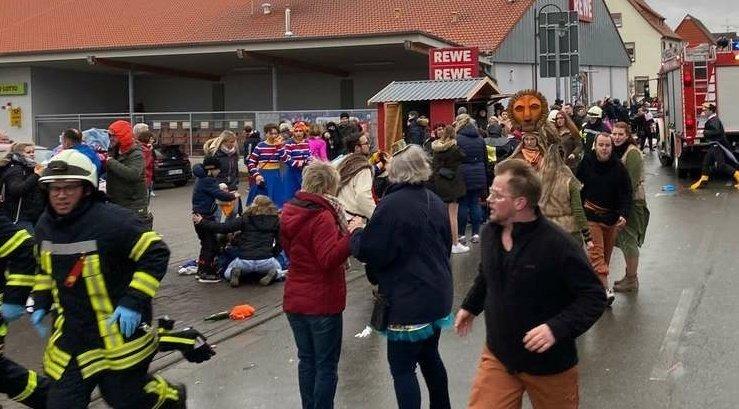En Alemania más de 30 heridos al ser embestidos por un coche en carnaval