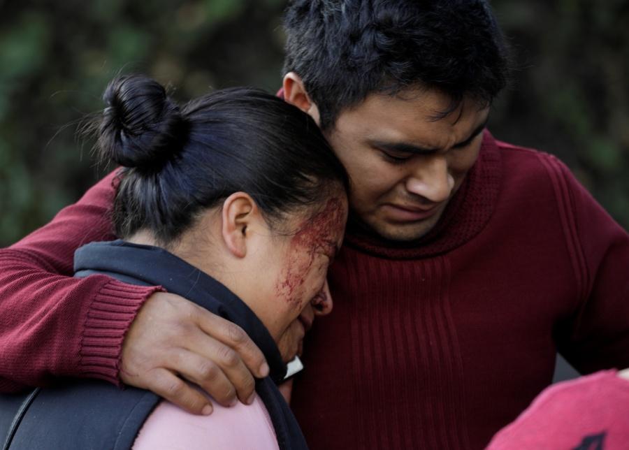 Muere Gabriela camino al trabajo en la emboscada al jefe de la policía