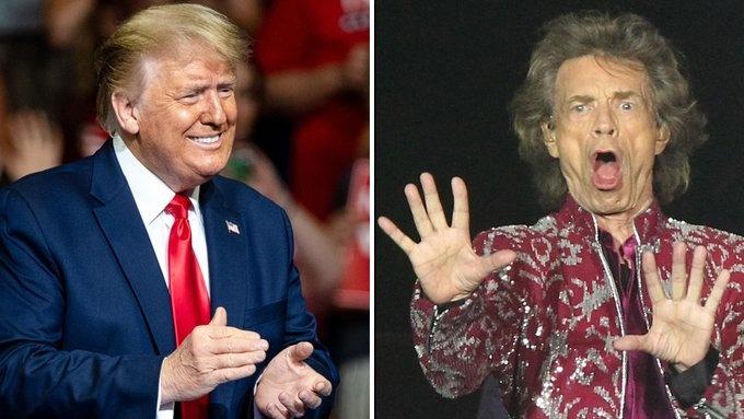 Rolling Stones amenazan con demandar a Trump por utilizar su música