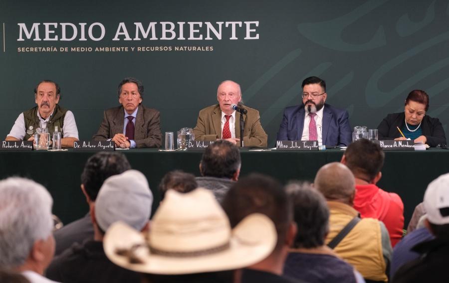 Modificará SEMARNAT lo necesario en normatividad ambiental para enfrentar las emergencias