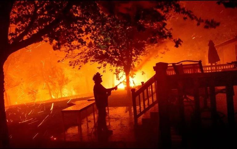 20 mil 200 hectáreas afectadas por incendios en California