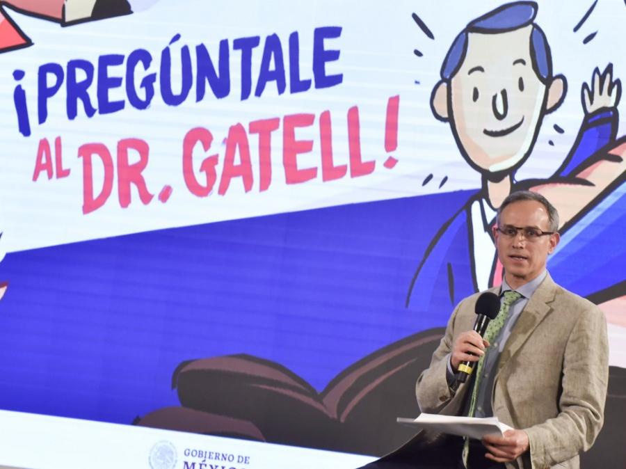"""Niños se informan del Covid-19 en conferencia """"¡Pregúntale al Dr. Gatell!"""""""