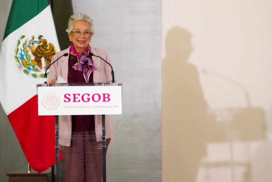 """Niega López Obrador salida de Sánchez Cordero; """"no quiero que se vaya"""", dice"""