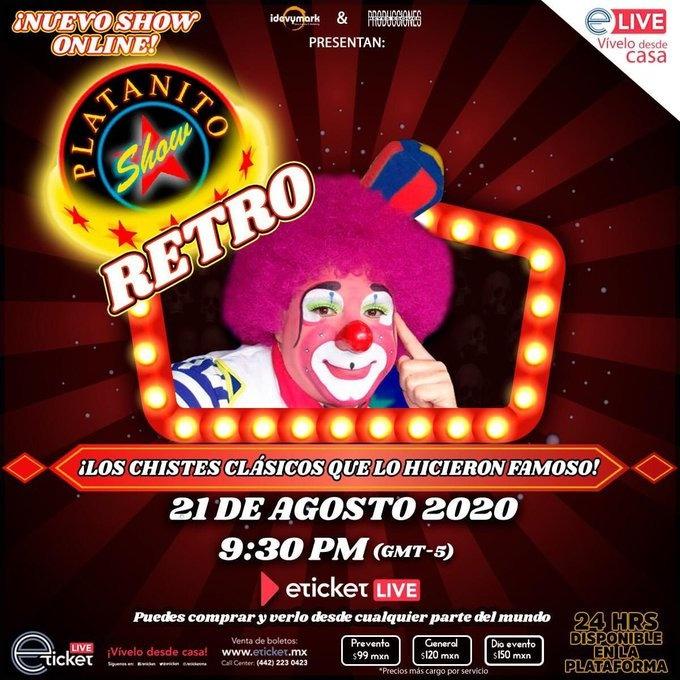 """Platanito y su nuevo show; """"les ofende todo"""", dice en relación a los chistes"""