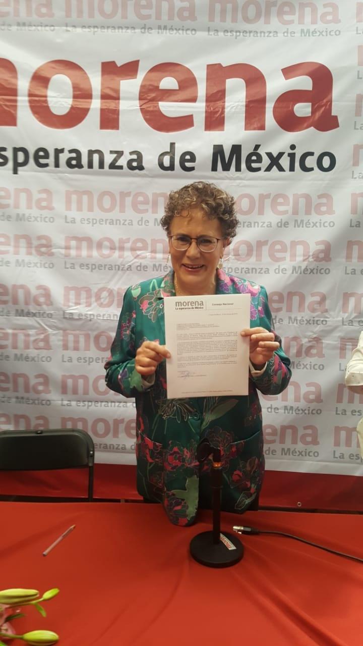 En busca de dirigencia, Bertha Luján dejará Consejo de Morena