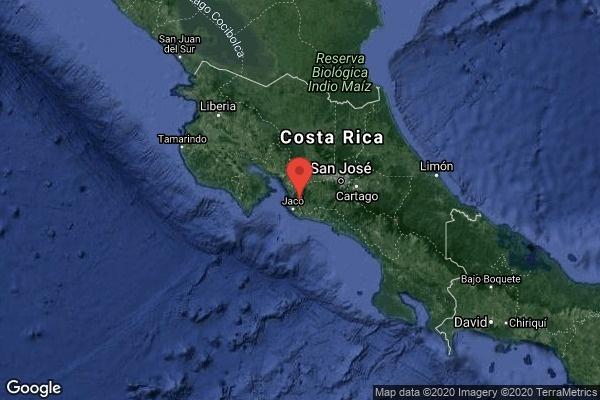 Costa Rica es sacudido por sismo de magnitud 6.0