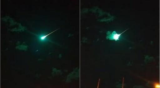 Aparece bola de fuego azul en Australia
