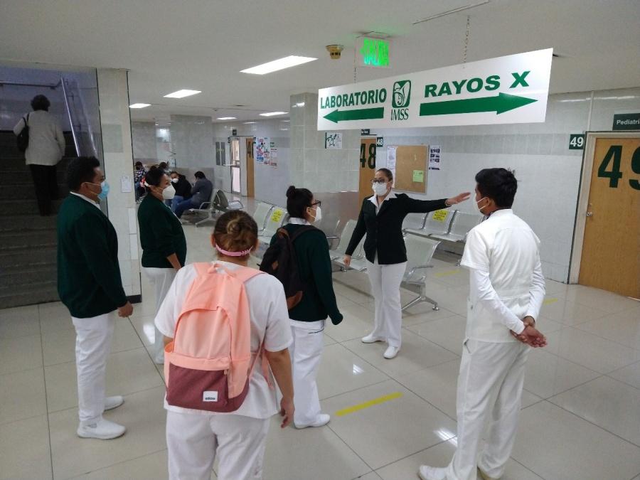 Arriban a Chihuahua 52 médicos y personal de enfermería del IMSS de otros estados para fortalecer atención a Covid-19