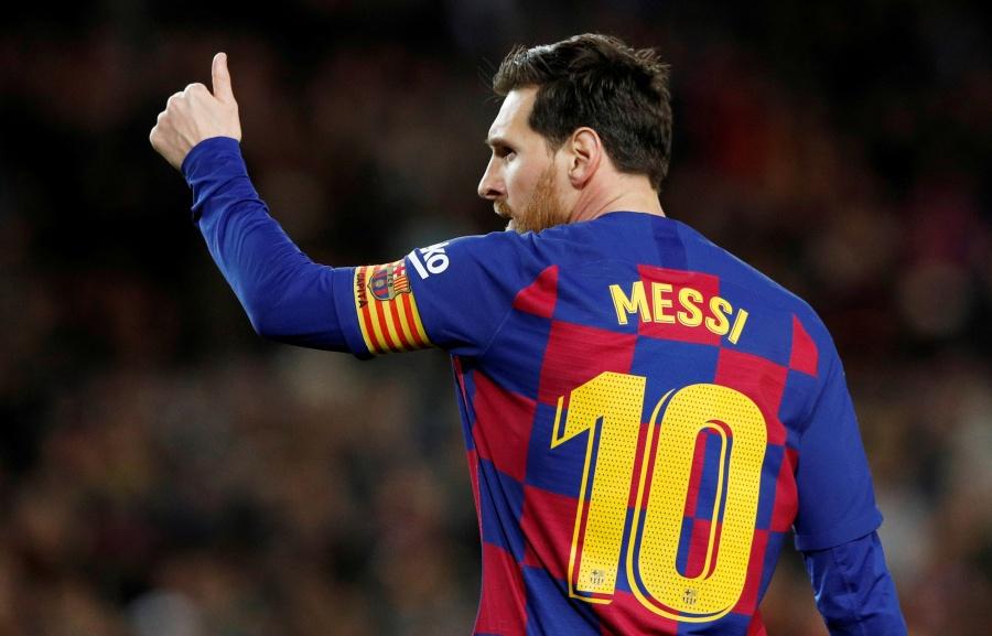 Messi hace donación para combatir el Covid-19