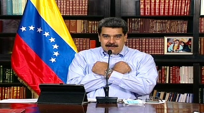 """Maduro desea a Trump una pronta recuperación por Covid-19; pide que se haga """"más humano"""""""