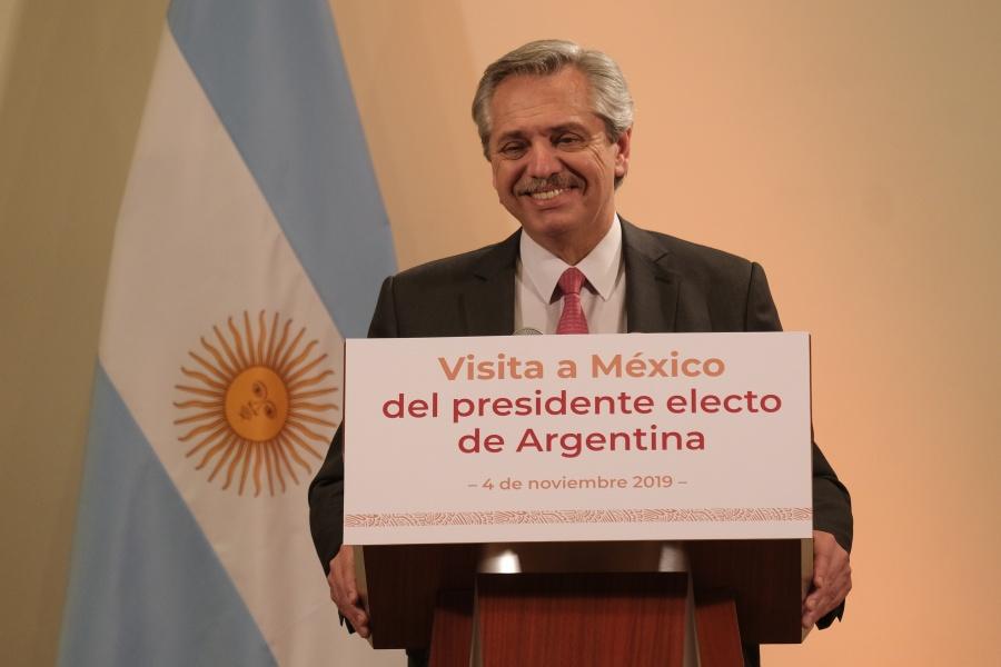 Triunfo de AMLO oportunidad de que en Latam regresen gobiernos progresistas: presidente electo de Argentina