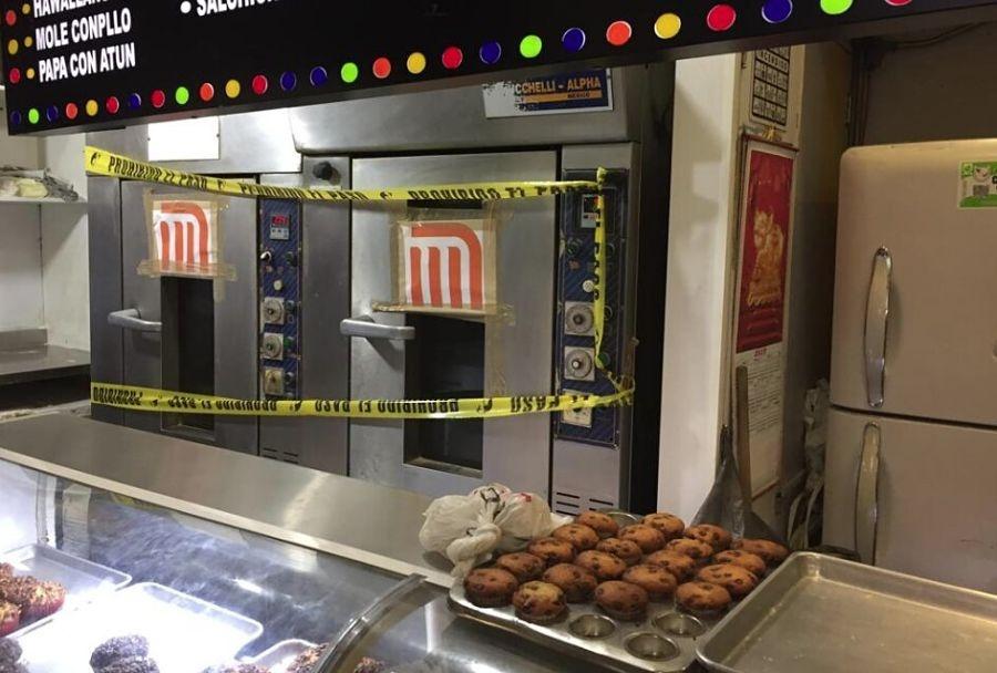Suspenden temporalmente locales de comida en el Metro