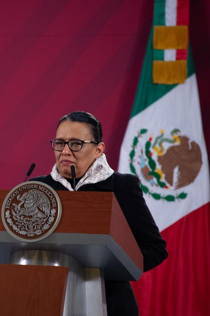 Ratifica Rosa Icela Rodríguez disposición de contribuir a la pacificación de México
