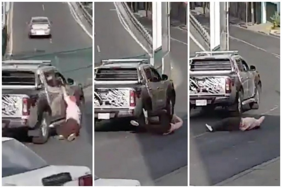 Buscan a conductor que arrolló a una mujer en lateral de periférico
