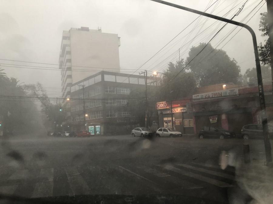 Álvaro Obregón, Benito Juarez y Coyoacán con alerta púrpura por tormentas