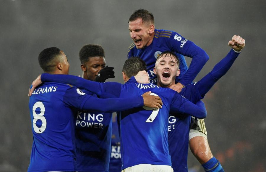Leicester destroza al Southampton en la Premier League