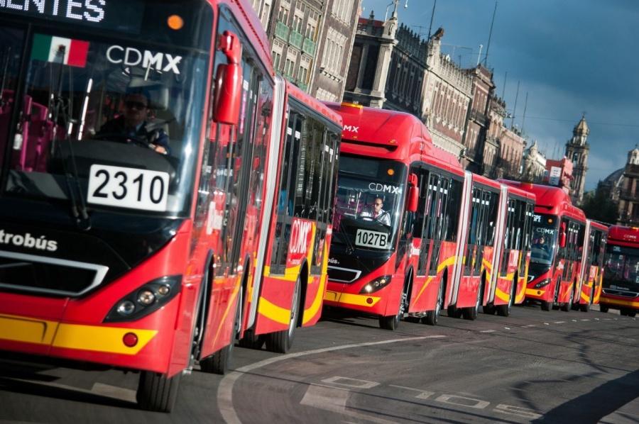 Horarios de servicio del transporte en la CDMX  en días feriados