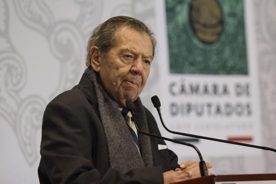 """Muñoz Ledo pide a gobernadores no """"jugar a capricho"""" con cifras de pandemia"""