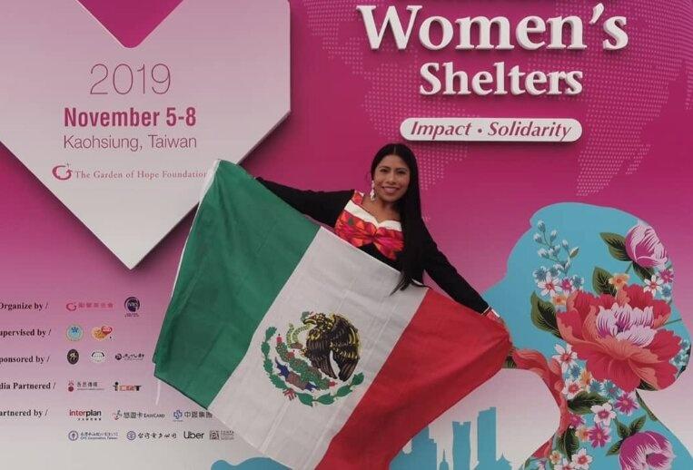Participa Yalitza en Conferencia Mundial de Mujeres en Taiwán