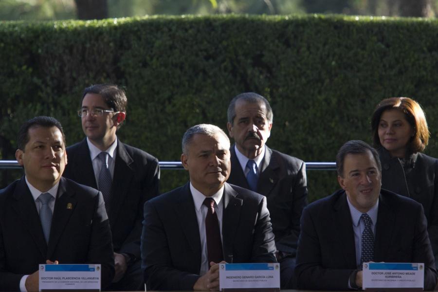 Ellos fueron secretarios de Gobernación cuando García Luna estaba en la SSP