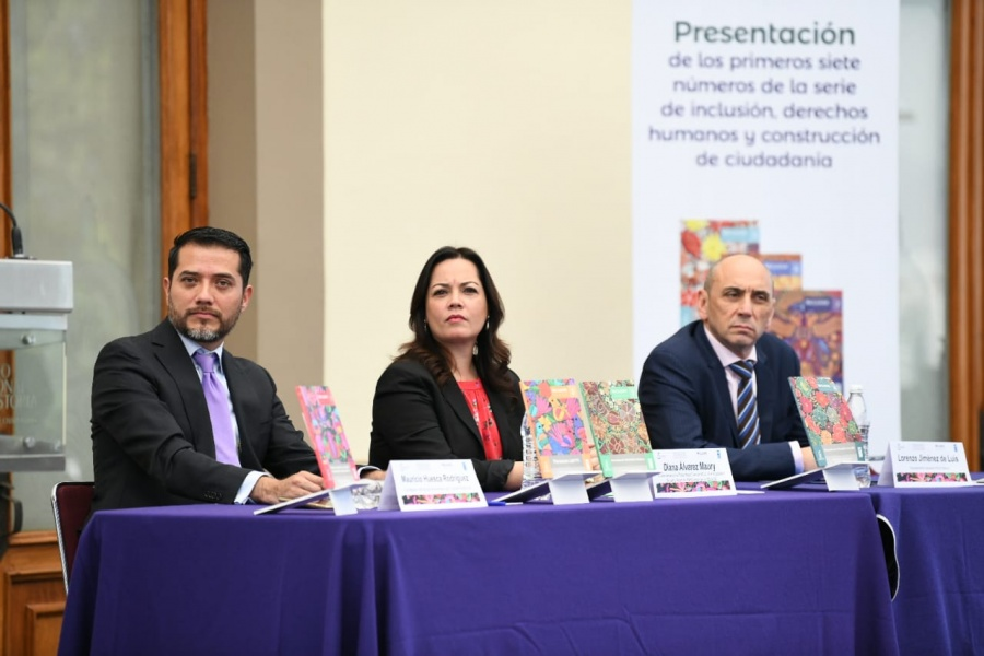Presentan IECM y PNUD México la serie editorial INCLUSIVE