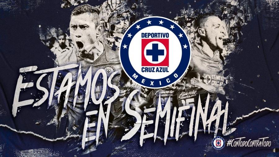 Cruz Azul se coloca en semifinales