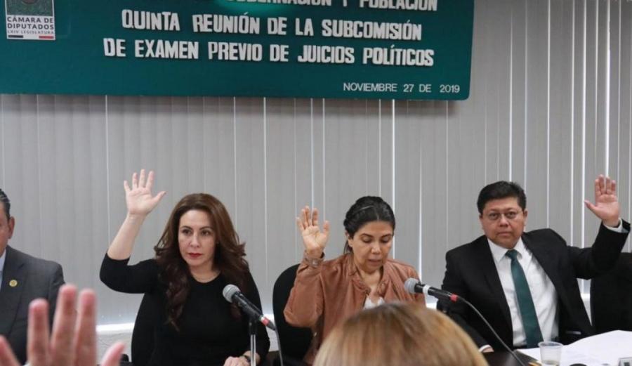 Ratifican en Cámara de Diputados realización de Juicio Político a Rosario Robles