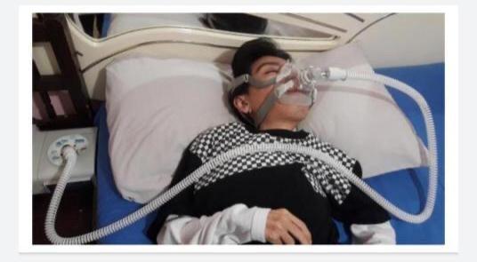 Alejandro García pide donaciones, necesita un respirador