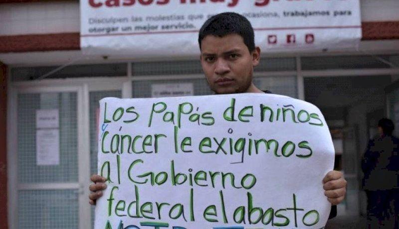 Denuncian desabasto de medicamentos para niños con cáncer en Sonora