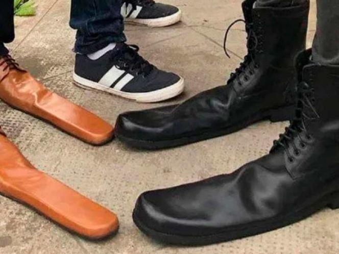 Zapatos para la Sana Distancia