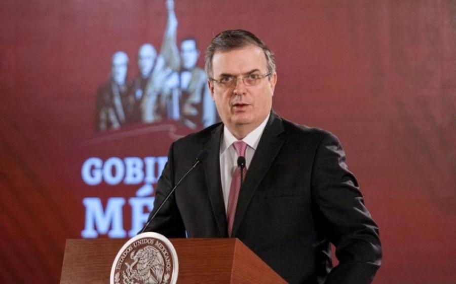 Propone Ebrard a Pompeo que la frontera México-EU siga abierta a comercio y trabajo