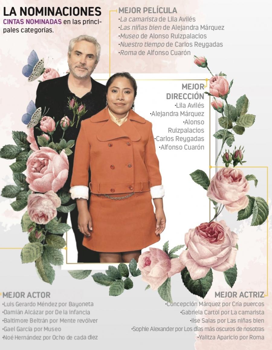 Roma de Alfonso Cuarón va por 15 Premios Ariel