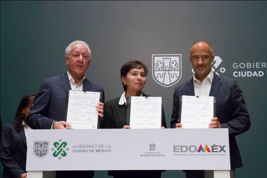 CDMX y Edomex firman convenio para reciclar basura