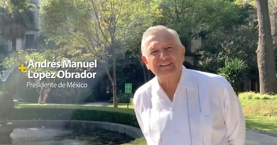 AMLO pide a los mexicanos que se unan y ayuden al Teletón