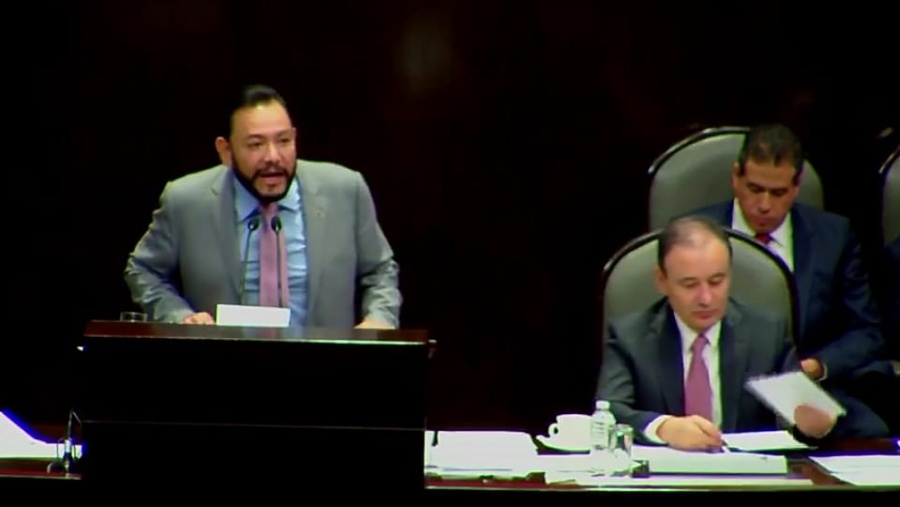 Responsabilidad y congruencia para mantener la paz social en México: Serrano Cortés