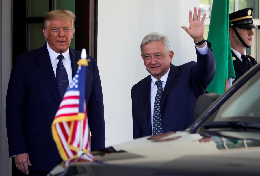 López Obrador llega a la Casa Blanca