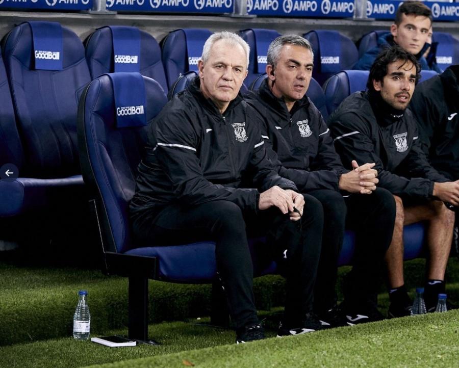 Javier Aguirre debuta como técnico del Leganés con empate