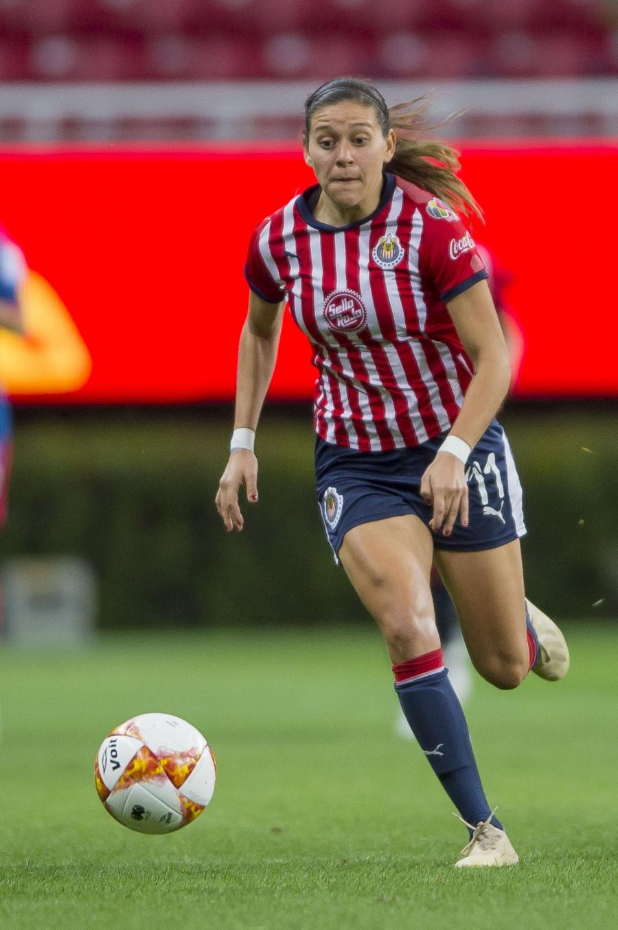Norma Palafox ser la goleadora histórica de Chivas y la Liga