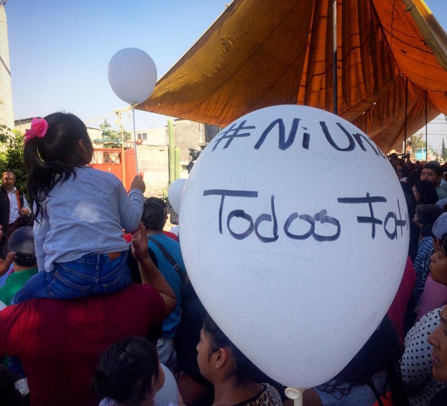Vecinos de Fátima realizan colecta para funeral