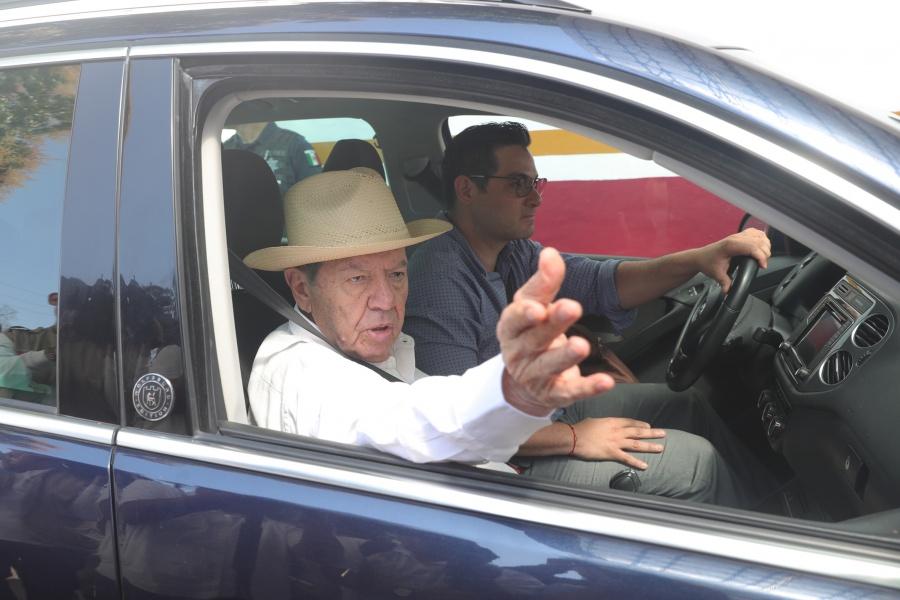 Sobre migración, México no debe hacer caso a Trump: Muñoz Ledo
