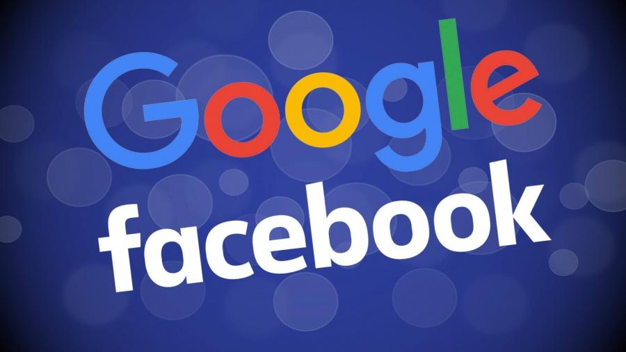 Google y Facebook trabajarían de la mano ante posible demanda antimonopolio