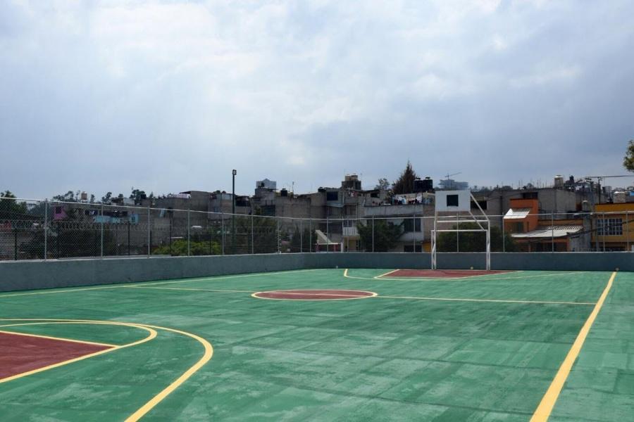 Piden rescatar cancha deportiva en Alcaldía Álvaro Obregón