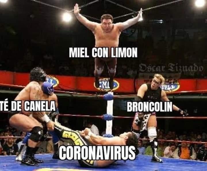 Internautas comparten memes por posible llegada del coronavirus a México