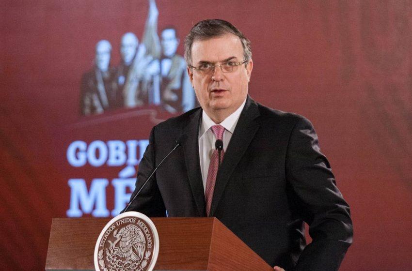 Anuncia Marcelo Ebrard ampliación de asociación estratégica con China