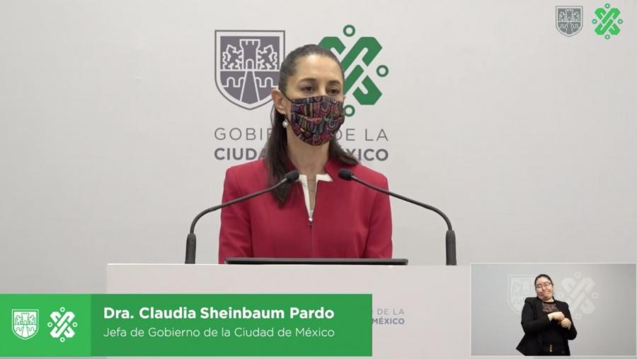 Sheinbaum anuncia nuevas medidas y acciones para evitar contagios de Covid-19 en CDMX