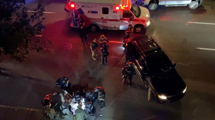 Muere un hombre por balazo durante las manifestaciones en Portland